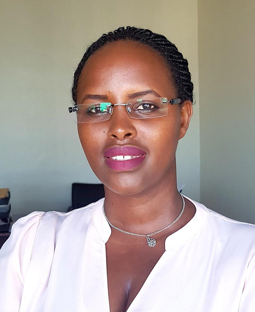 Francoise Uzamukunda, MA